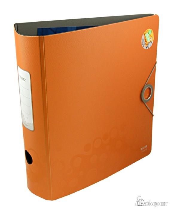 """Иллюстрация 1 из 2 для Папка-регистратор """"Leitz 180° Active Bebop"""" А4, оранжевая (10470045)   Лабиринт - канцтовы. Источник: Лабиринт"""