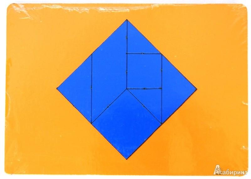 """Иллюстрация 1 из 17 для Головоломка-мозаика """"Головоломка Пифагора"""" (ОКГ-004)   Лабиринт - игрушки. Источник: Лабиринт"""