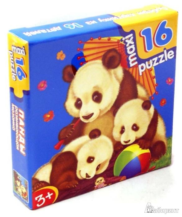 """Иллюстрация 1 из 10 для Развивающая мозаика """"Панды"""" (2394)   Лабиринт - игрушки. Источник: Лабиринт"""