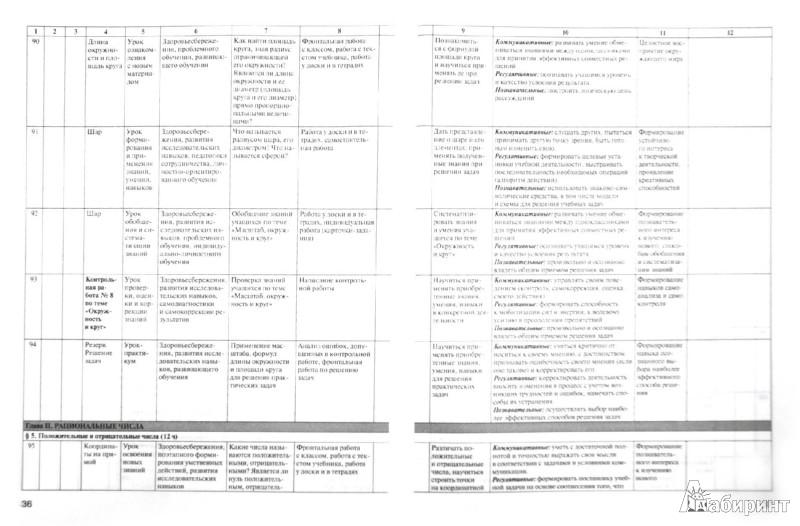 Иллюстрация 1 из 8 для Математика. 6 класс. Рабочая программа к УМК Н.Я. Виленкина и др. ФГОС | Лабиринт - книги. Источник: Лабиринт