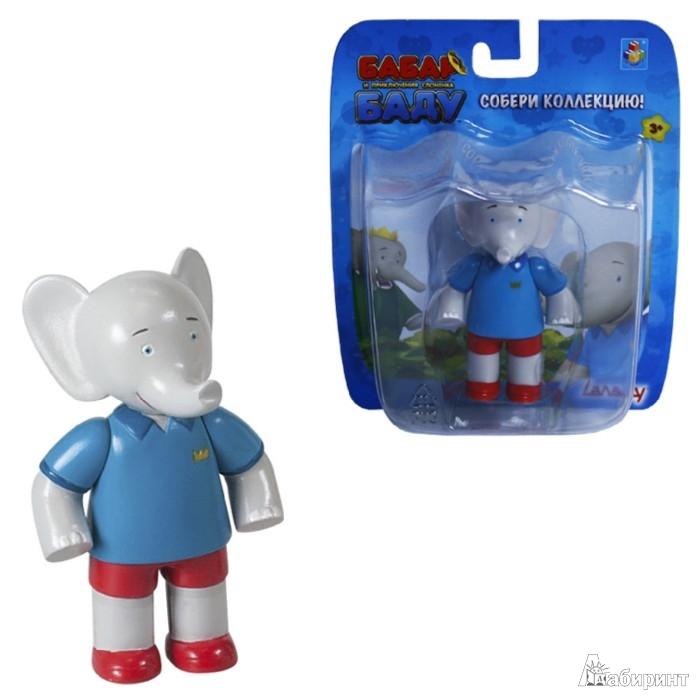 Иллюстрация 1 из 10 для Бабар. Фигурка слон Баду, 8 см. (Т55807)   Лабиринт - игрушки. Источник: Лабиринт