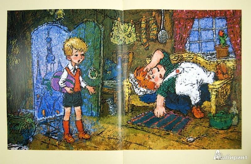 Иллюстрация 1 из 16 для Малыш и Карлсон, который живет на крыше - Астрид Линдгрен | Лабиринт - книги. Источник: Лабиринт