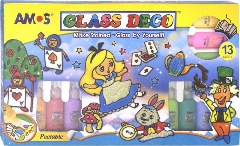 Иллюстрация 1 из 16 для Набор витражных красок - сочетания видов (19844)   Лабиринт - игрушки. Источник: Лабиринт