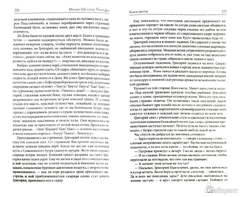 Иллюстрация 1 из 39 для Тихий Дон. Роман в 2 томах. Том 2 (Книги 3 - 4) - Михаил Шолохов | Лабиринт - книги. Источник: Лабиринт