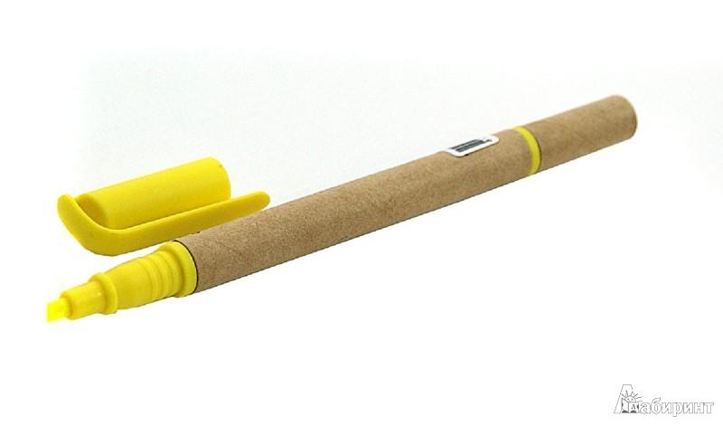 Иллюстрация 1 из 7 для Ручка шариковая с желтым маркером (070067) | Лабиринт - канцтовы. Источник: Лабиринт