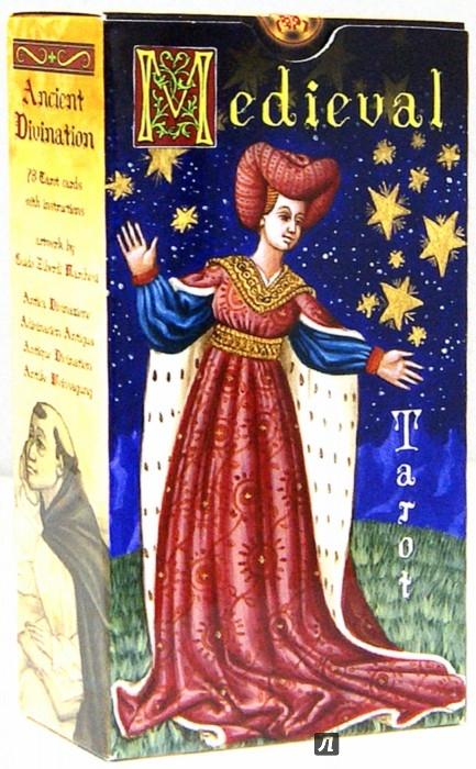Иллюстрация 1 из 29 для Таро Средневековое на английском языке - Berti, Tebani | Лабиринт - книги. Источник: Лабиринт