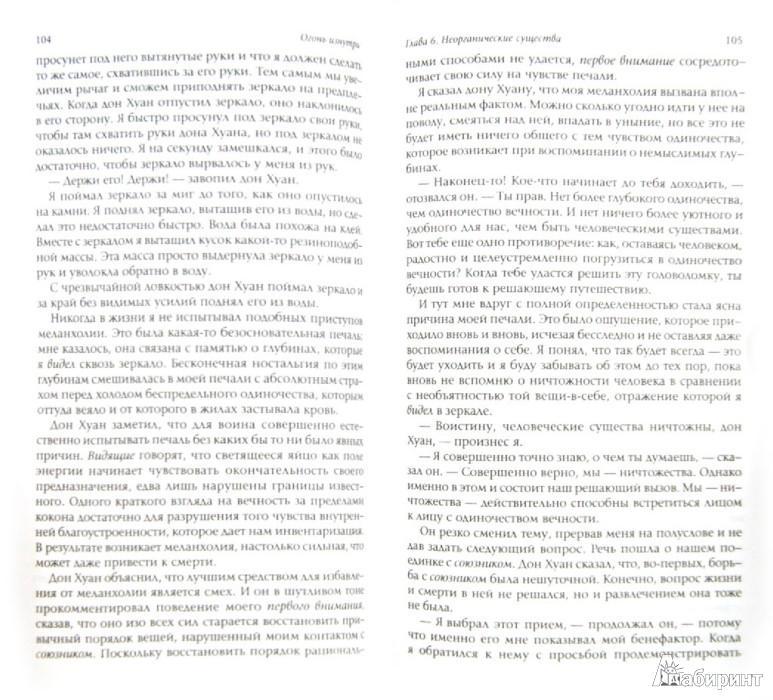 Иллюстрация 1 из 7 для Огонь изнутри - Карлос Кастанеда | Лабиринт - книги. Источник: Лабиринт