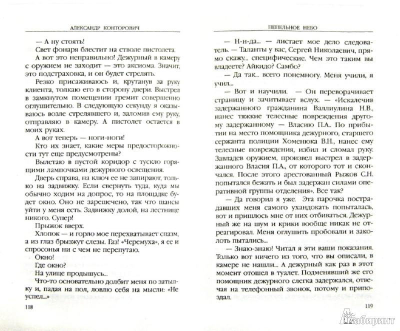 Иллюстрация 1 из 7 для Пепельное небо - Александр Конторович   Лабиринт - книги. Источник: Лабиринт
