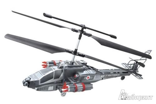 Иллюстрация 1 из 3 для GYRO-FIGHTER4. Радиоуправляемый вертолет (Т55727) | Лабиринт - игрушки. Источник: Лабиринт