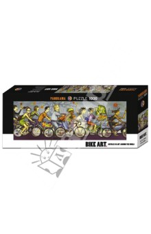 Puzzle-1000 Велосипедисты (29543) пазлы crystal puzzle 3d головоломка вулкан 40 деталей