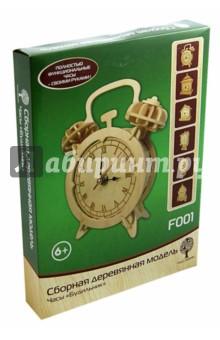Сборная деревянная модель Будильник (F001) система умный дом своими руками купить в китае