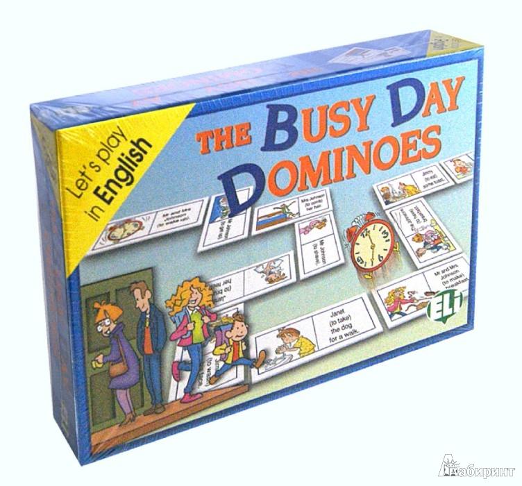 Иллюстрация 1 из 6 для GAMES: THE BUSY DAY DOMINOES (Level: A2-B1) Набор из 48 карточек | Лабиринт - книги. Источник: Лабиринт