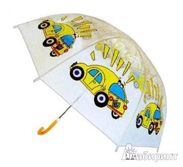 Иллюстрация 1 из 3 для Детский зонт (64160) | Лабиринт - игрушки. Источник: Лабиринт