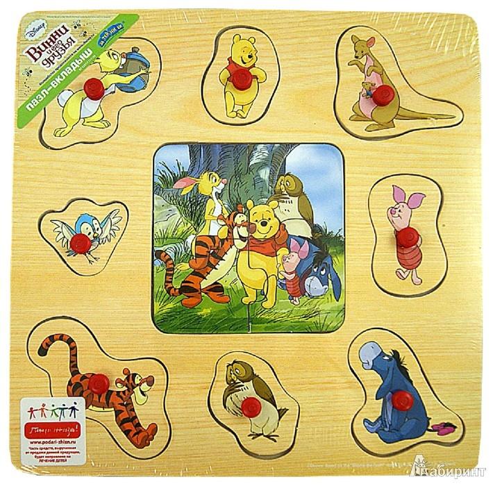 """Иллюстрация 1 из 8 для Пазл """"Винни Пух"""" дерево (GT6231)   Лабиринт - игрушки. Источник: Лабиринт"""