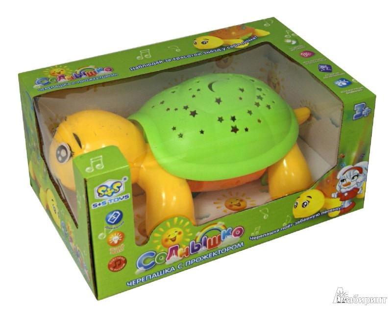 Иллюстрация 1 из 3 для Черепашка с прожектором (EC80238R)   Лабиринт - игрушки. Источник: Лабиринт