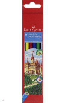 """Карандаши 6 цветов ECO """"Замок"""", в картонной коробке (120106) от Лабиринт"""