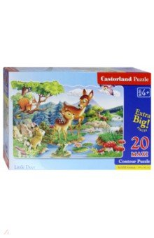 Puzzle MAXI, 20 элементов, Бэмби (С-02177-NEW)