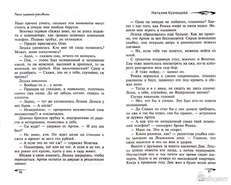 Иллюстрация 1 из 6 для Лето золотой раковины - Наталия Кузнецова   Лабиринт - книги. Источник: Лабиринт