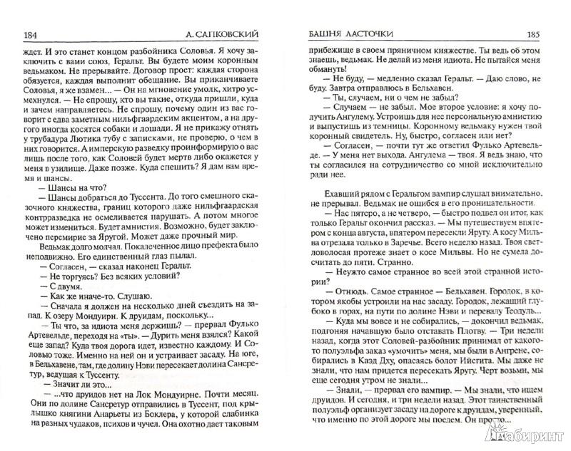 Иллюстрация 1 из 23 для Башня ласточки - Анджей Сапковский | Лабиринт - книги. Источник: Лабиринт