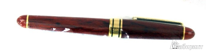 Иллюстрация 1 из 8 для Ручка mini перьевая дерево: золотое перо (R 020 F)   Лабиринт - канцтовы. Источник: Лабиринт