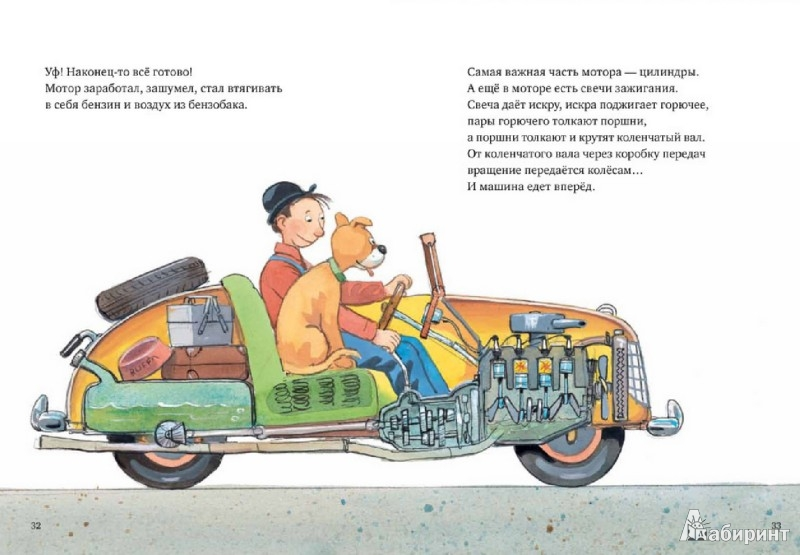 Иллюстрация 1 из 61 для Мулле Мек собирает автомобиль - Георг Юхансон | Лабиринт - книги. Источник: Лабиринт