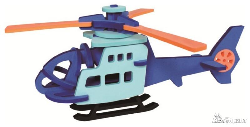 Иллюстрация 1 из 8 для Конструктор мягкий. Вертолет (T6012) | Лабиринт - игрушки. Источник: Лабиринт