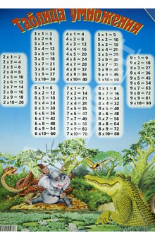 Таблица умножения. Киплинг. Слонёнок
