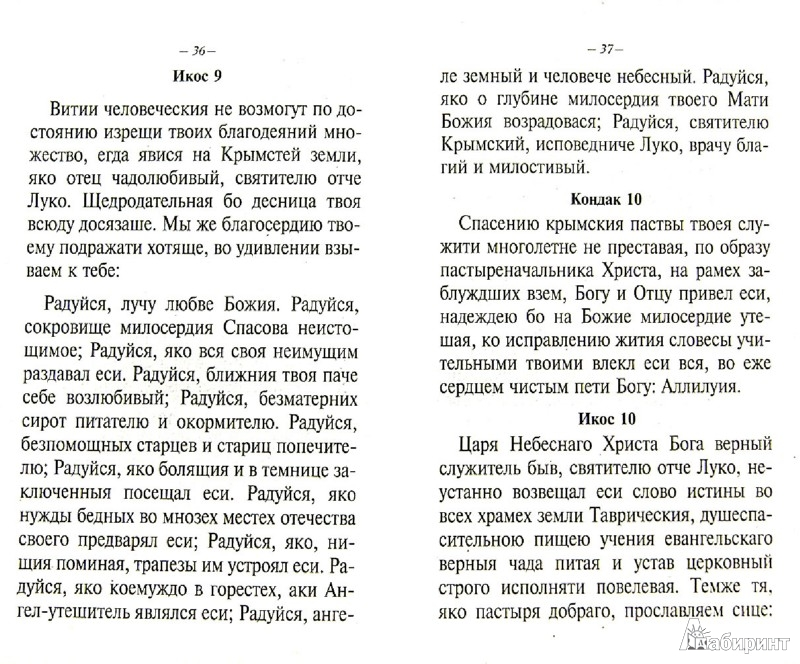 Иллюстрация 1 из 9 для Акафисты, читаемые в болезнях или за больных | Лабиринт - книги. Источник: Лабиринт
