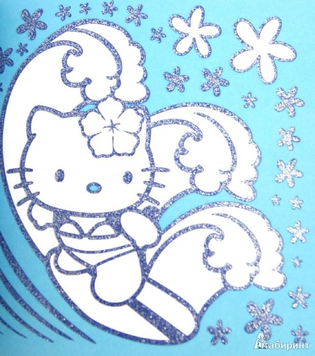 Иллюстрация 1 из 18 для Hello Kitty. Серебряная раскраска. Веселая прогулка   Лабиринт - книги. Источник: Лабиринт