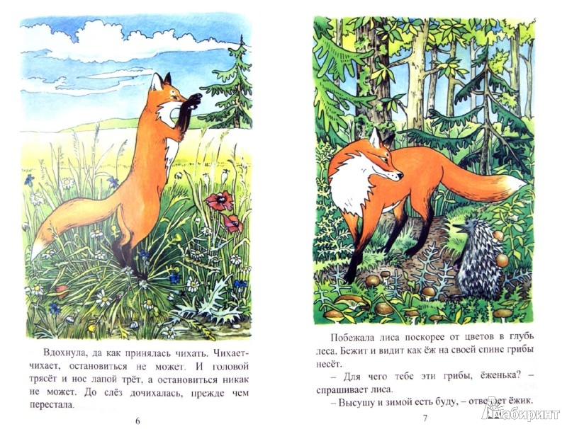Иллюстрация 1 из 6 для Как лиса к зиме готовилась - Татьяна Ревякина | Лабиринт - книги. Источник: Лабиринт