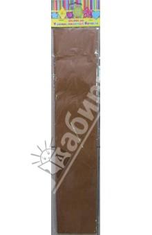 Бумага светло-коричневая крепированная (30093)