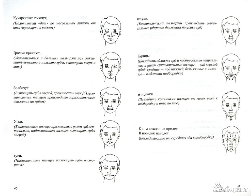 Иллюстрация 1 из 33 для Игровой логопедический массаж и самомассаж в коррекции речевых нарушений - Османова, Позднякова | Лабиринт - книги. Источник: Лабиринт