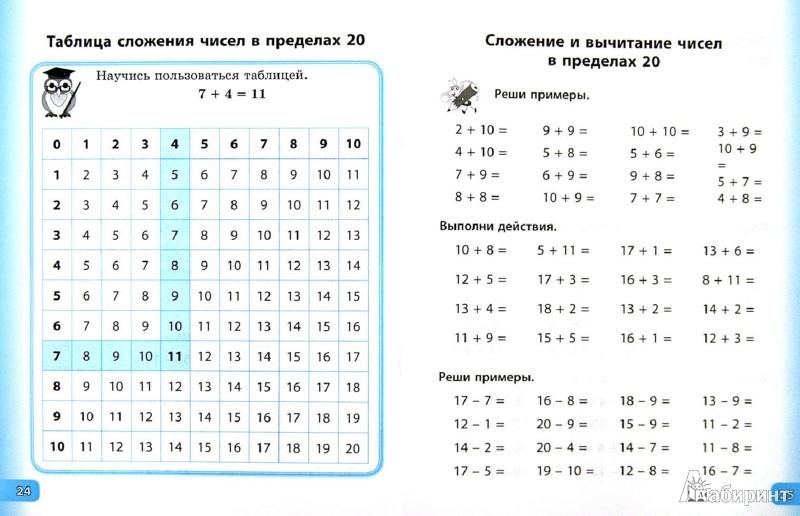 Иллюстрация 1 из 29 для Счет и правила по математике. 1 класс - Елизавета Коротяева | Лабиринт - книги. Источник: Лабиринт