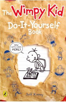 Diary of a Wimpy Kid: Do-It-Yourself Book write your own book