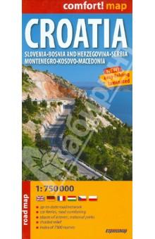 Croatia. 1:750 000
