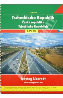 Tschechische Republick. Superatlas 1:150 000 брюки домашние лори лори lo037ewxpu57