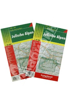 Julishe Alpen. 1:50 000