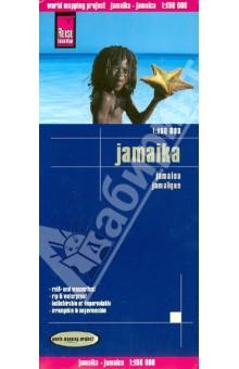 Ямайка. Карта. 1:150 000