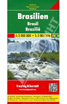 Brazil. 1:2 000 000 - 1:3 000 000