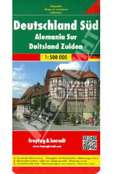 Germany South. 1:500 000 italien nord 1 500 000