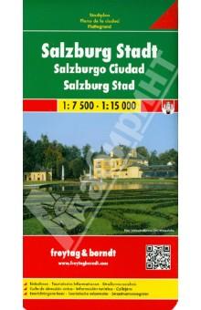 Salzburg City. 1:7 500, 1:15 000 vienna city 1 6 500 1 20 000