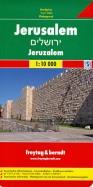 Jerusalem. 1:10 000