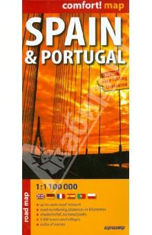 Spain & Portugal. 1:1 100 000