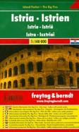 Istria. 1:140 000. City pocket + The Big Five