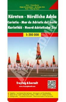 Carinthia. Norhern Adriatic Sea. 1:200 000