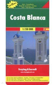 Costa Blanca 1:150 000