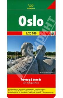 Oslo. 1:20 000