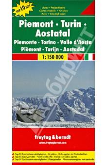 Piemont - Turin - Aostatal. 1:150 000
