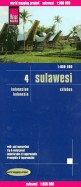 Sulawesi. Indonesien. 1:800 000