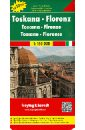 Tuscany - Florence. 1:150 000
